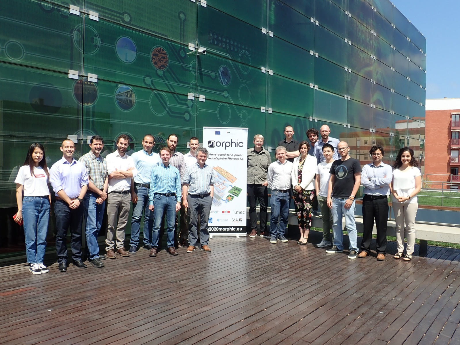 Morphic Partners meeting, May 2018, Valencia